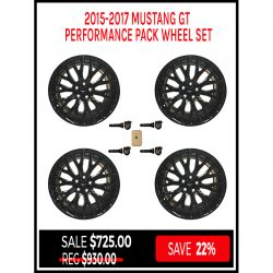 Performance Mustang GT Wheels