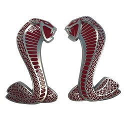 Cobra Snake Fender Emblems